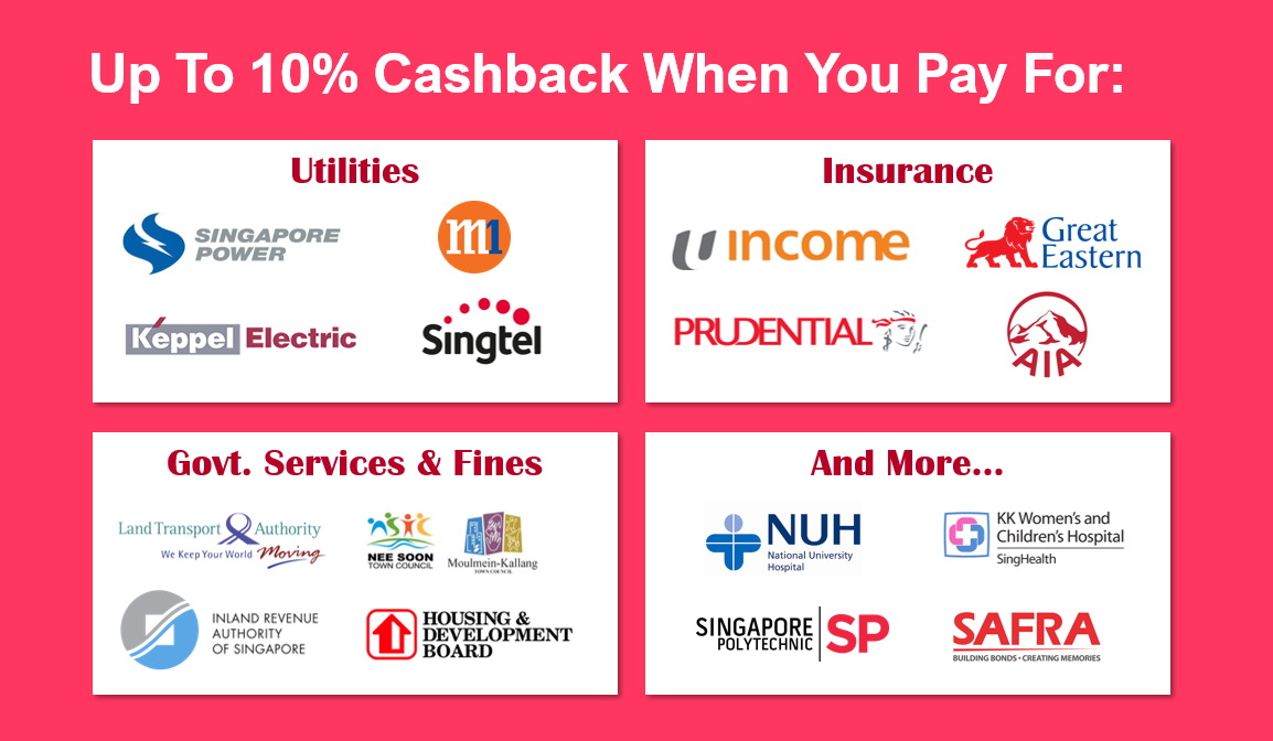 Get Up To 10 Cashback When Paying For Your Taxes Utilities And